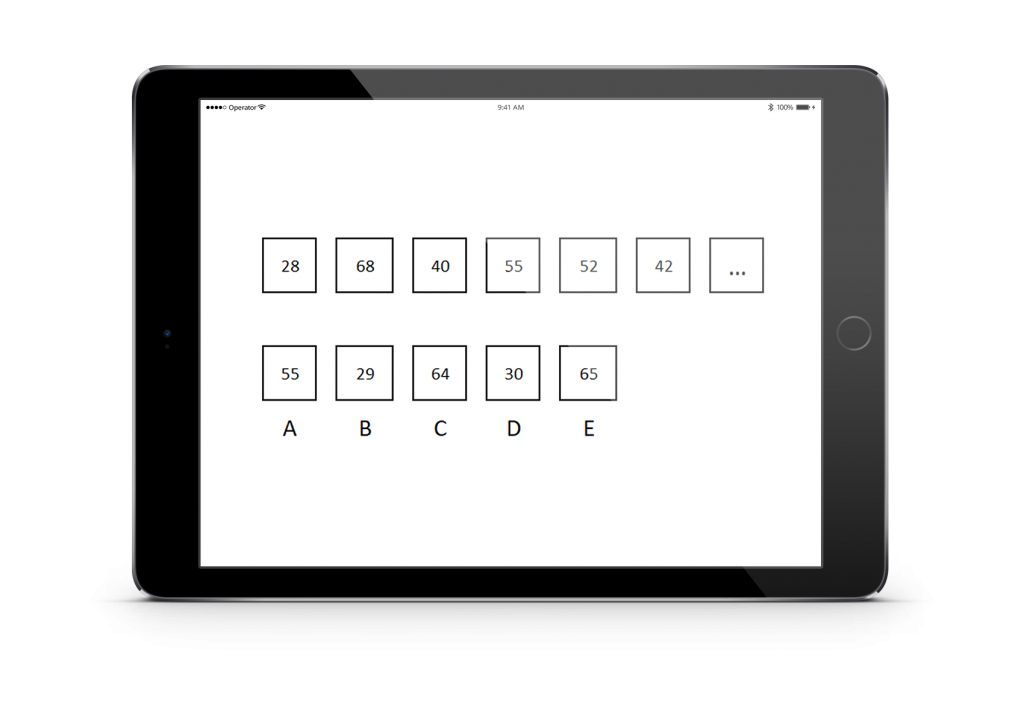 Cubiks practice number sequences