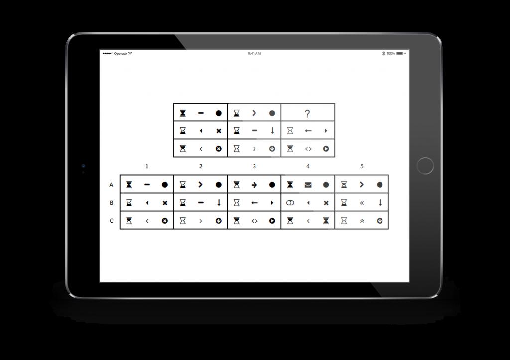 Talent Q elements logical matrices